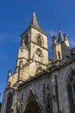 肖蒙,法国大教堂  免版税库存照片