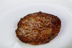 肝脏热的薄煎饼 免版税库存图片