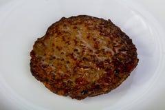 肝脏热的薄煎饼 库存图片