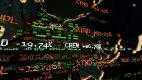 股市断续装置 Loopable 影视素材
