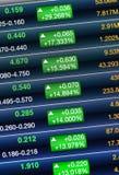 股市的增量 免版税库存照片