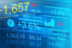 股票交易市场 库存图片