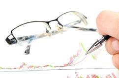 股票交易 库存照片
