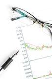 股票交易 免版税库存图片