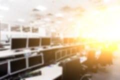 股票分析和顾客服务的办公室 库存照片