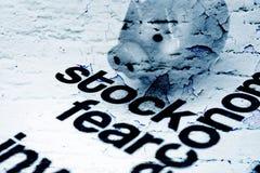股票和恐惧 免版税图库摄影