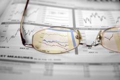 股票注意 免版税库存照片