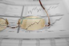 股票注意 库存照片