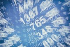 股票价格图 免版税库存照片