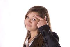 肢体语言 免版税库存照片