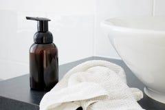 肥皂分配器 免版税库存图片