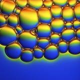 肥皂泡的抽象图象 库存照片