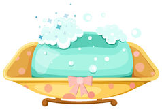 肥皂 向量例证