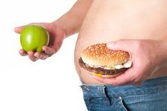 肥胖人 免版税库存图片