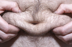 肥胖人 图库摄影