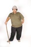 肥胖人 免版税库存照片