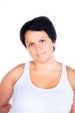 肥胖妇女 免版税库存图片