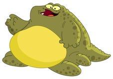 肥胖妖怪 库存图片