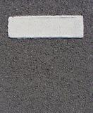 肥胖灰色grunge线路油漆数据条表面 库存图片