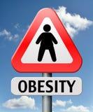 肥胖病饮食失调和超重 向量例证