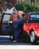 肥胖的驱动器 免版税库存照片