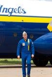肥胖阿尔伯特的约翰・ Hecker上尉 图库摄影