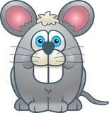 肥胖鼠标 免版税库存照片