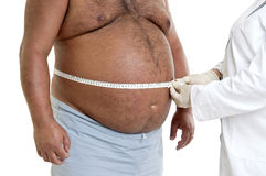 肥胖 免版税库存图片