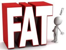 肥胖 免版税库存照片