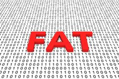 肥胖 免版税图库摄影