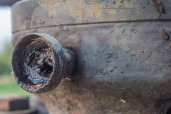 肮脏的喷管 免版税库存照片