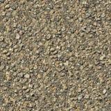 肮脏的岩石地面无缝的纹理。 免版税库存照片