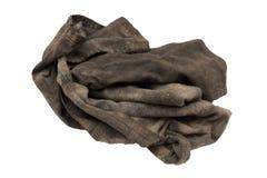 肮脏的旧布 免版税库存照片