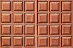 肮脏的棕色金属框架纹理,二面对切的正方形 免版税库存照片