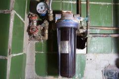 肮脏的滤水器 免版税图库摄影