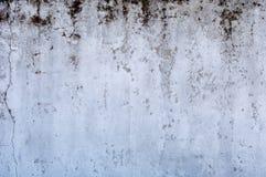 肮脏的白色墙壁 库存照片