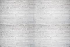肮脏的白色砖 免版税库存图片