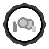 肮脏的盘,以后以前干净的盘 在圈子的传染媒介图象 肮脏的盘,干净的盘标志 盘动画片传染媒介 皇族释放例证
