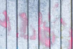 肮脏的老金属墙壁 免版税库存图片
