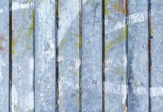 肮脏的老金属墙壁 图库摄影