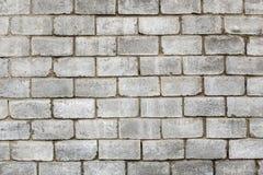 肮脏的老brickwall背景 免版税库存图片