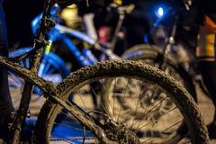 肮脏的自行车 免版税图库摄影