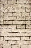 肮脏的葡萄酒砖墙纹理背景 免版税库存图片