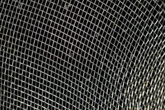 肮脏的金属面条筛子纹理 免版税图库摄影