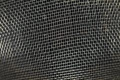 肮脏的金属面条筛子纹理 图库摄影