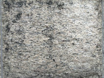 肮脏的水泥墙壁 免版税库存图片