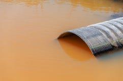 肮脏的水 免版税库存图片