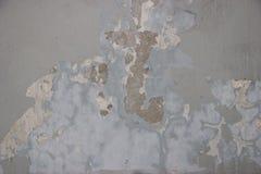 肮脏老的墙壁被浪费和 库存照片