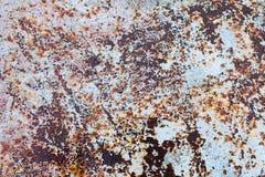 肮脏被风化的板材纹理  免版税库存图片
