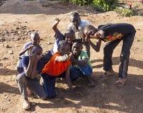 肯尼亚孩子 免版税库存照片